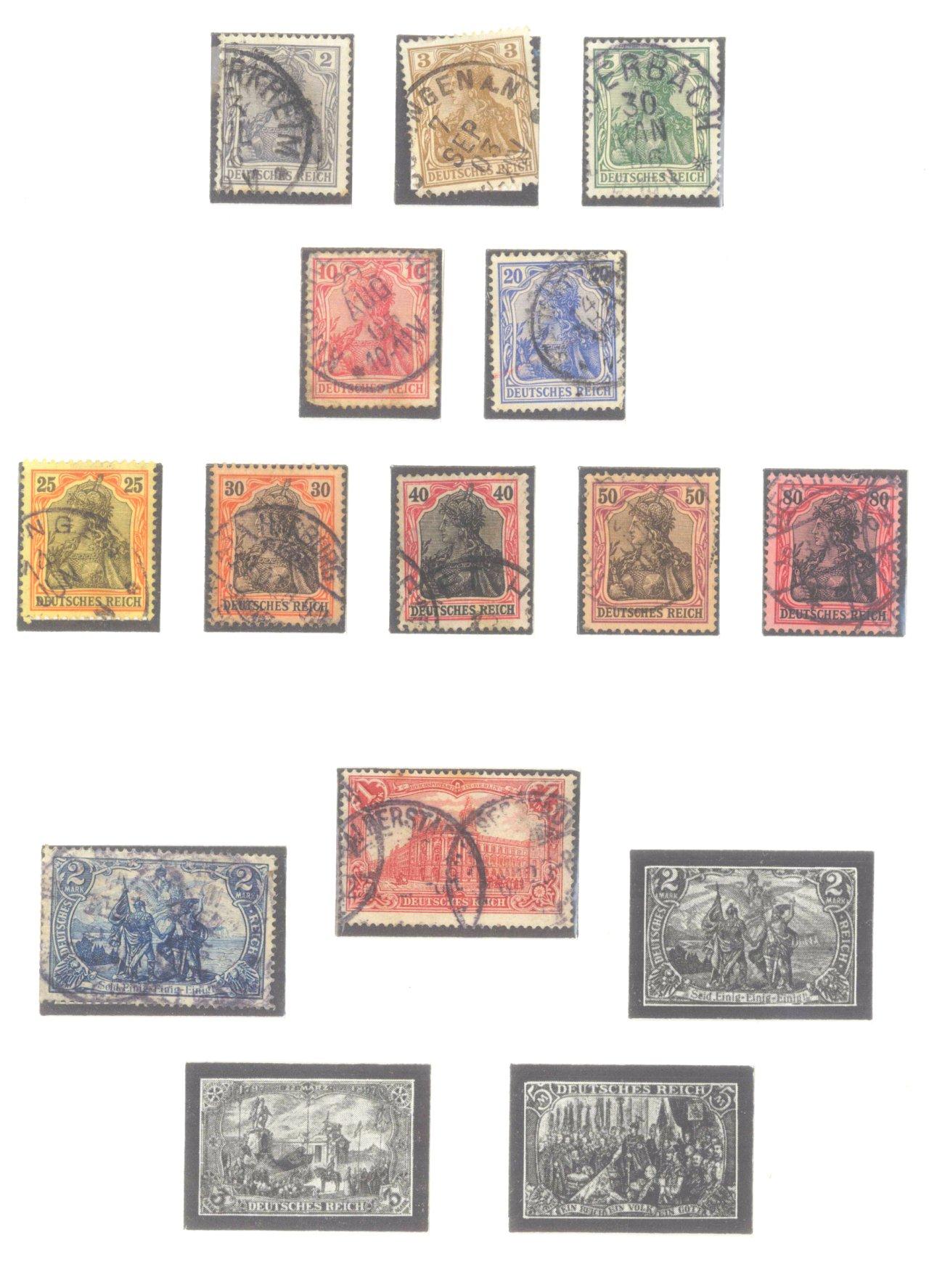 DEUTSCHES REICH – KAISERREICH 1872-1915-4