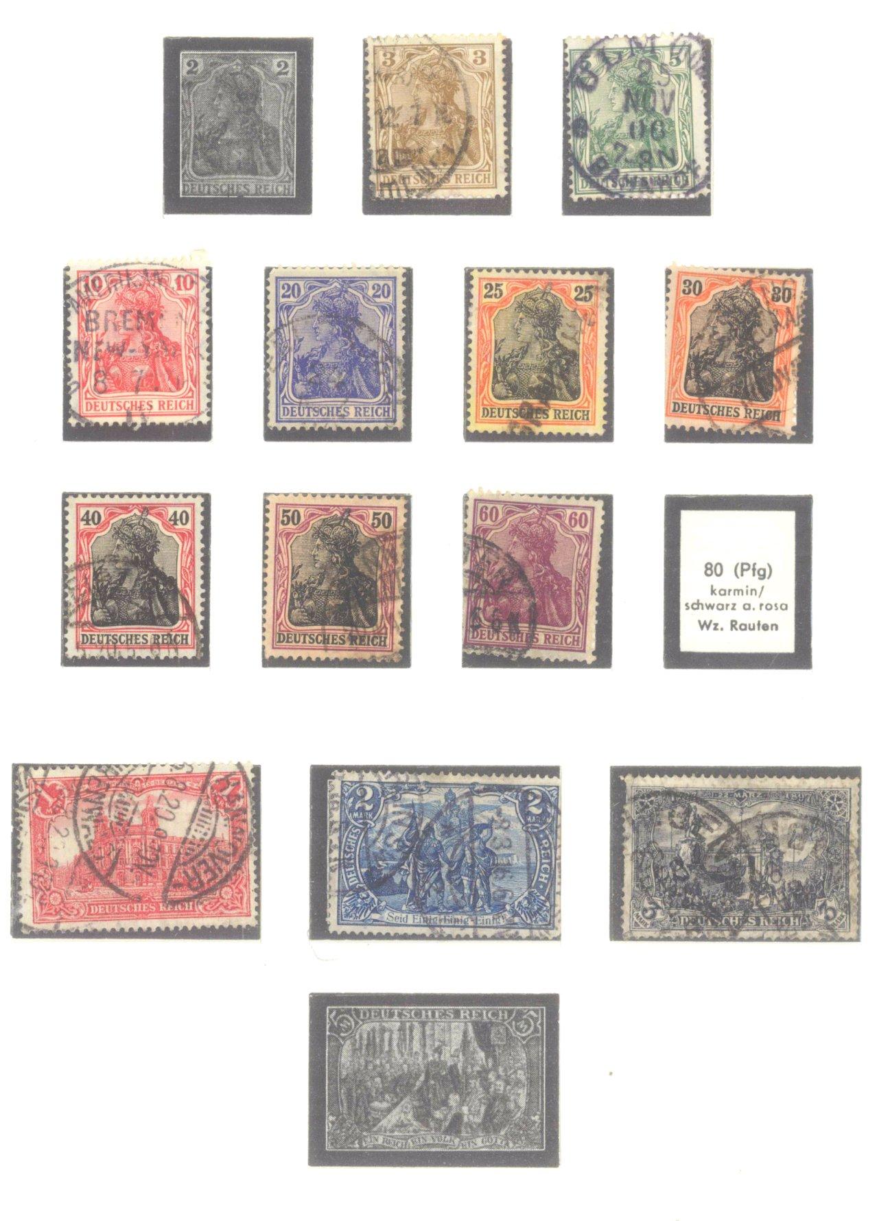 DEUTSCHES REICH – KAISERREICH 1872-1915-5