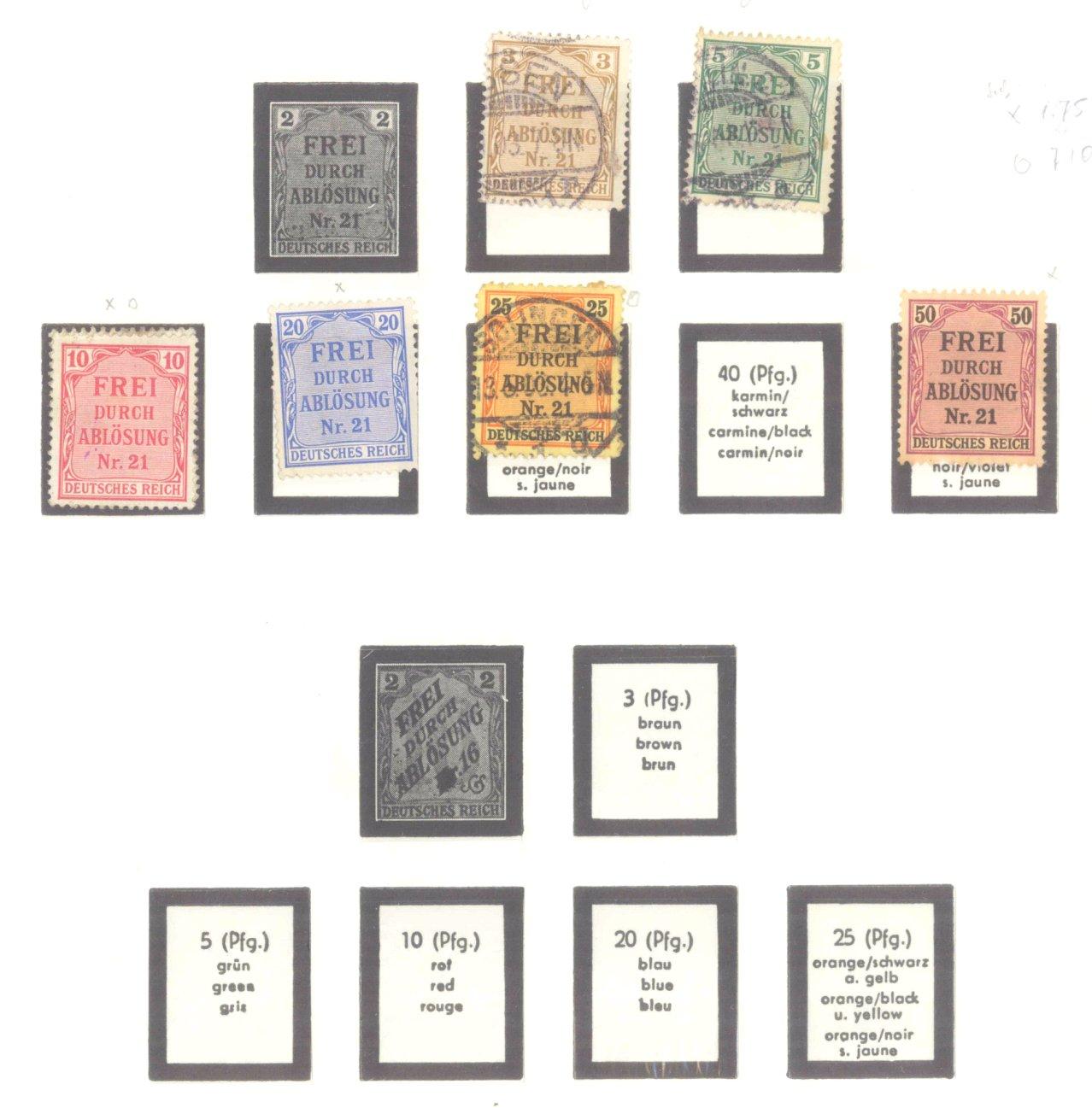 DEUTSCHES REICH – KAISERREICH 1872-1915-6