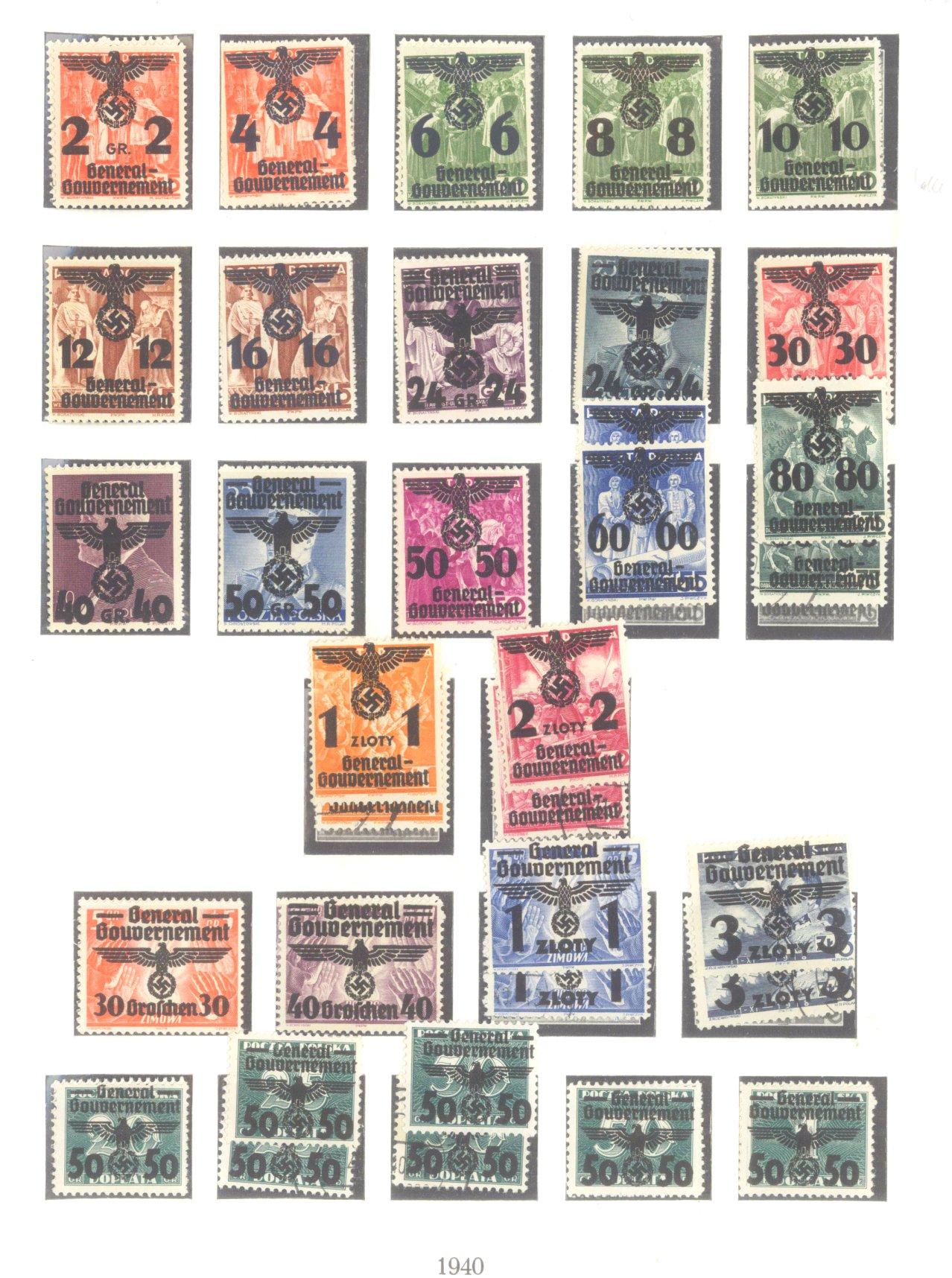 III. REICH – BESETZUNGEN im II. WELTKRIEG 1939-1945