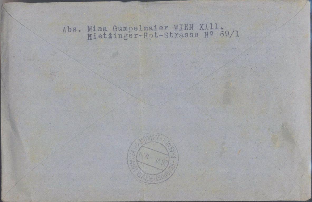 1918 ÖSTERREICH FLUGPOST-1
