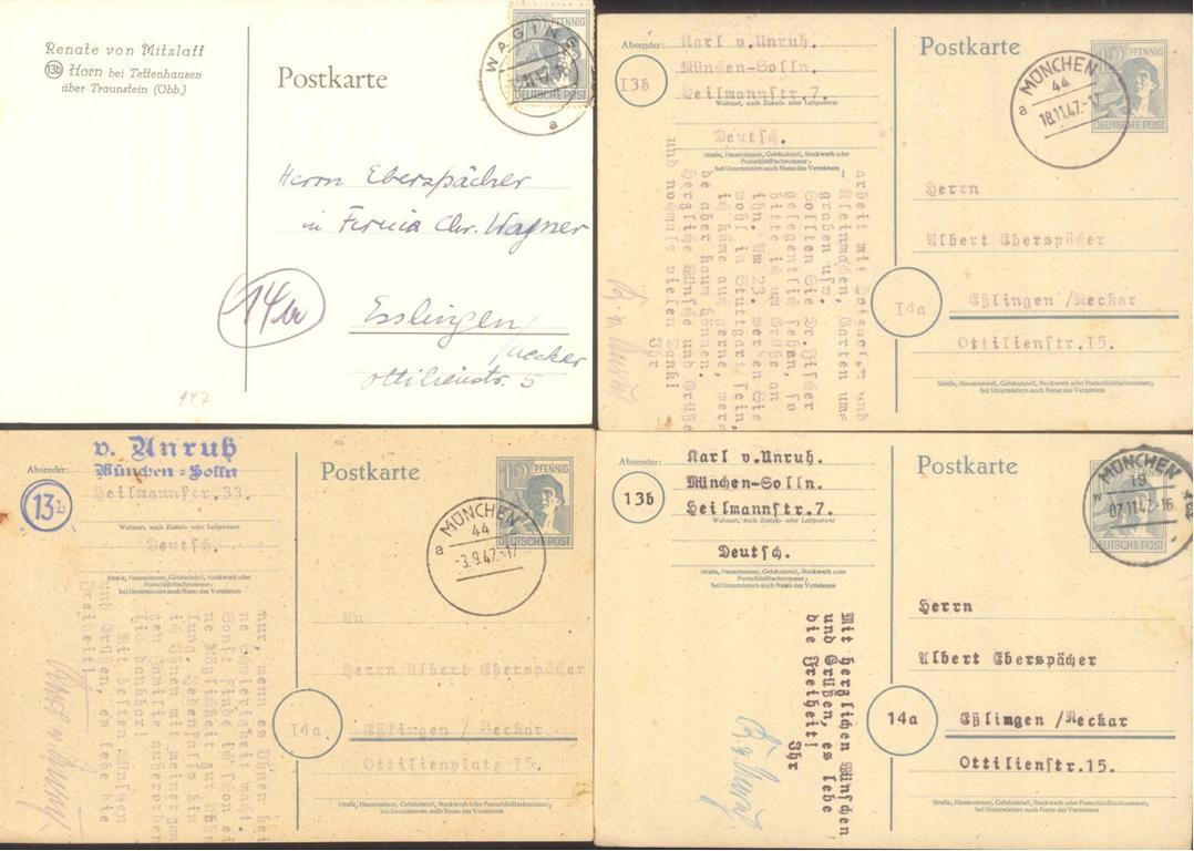 HERALDIK, POMMERSCHE ADELSGESCHLECHTER: von Unruh, von-1