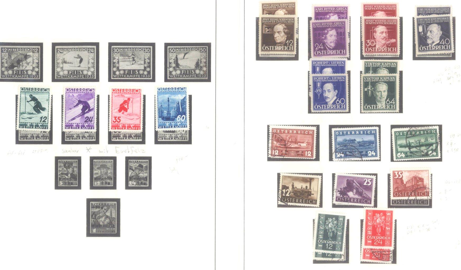 ÖSTERREICH 1850-1937
