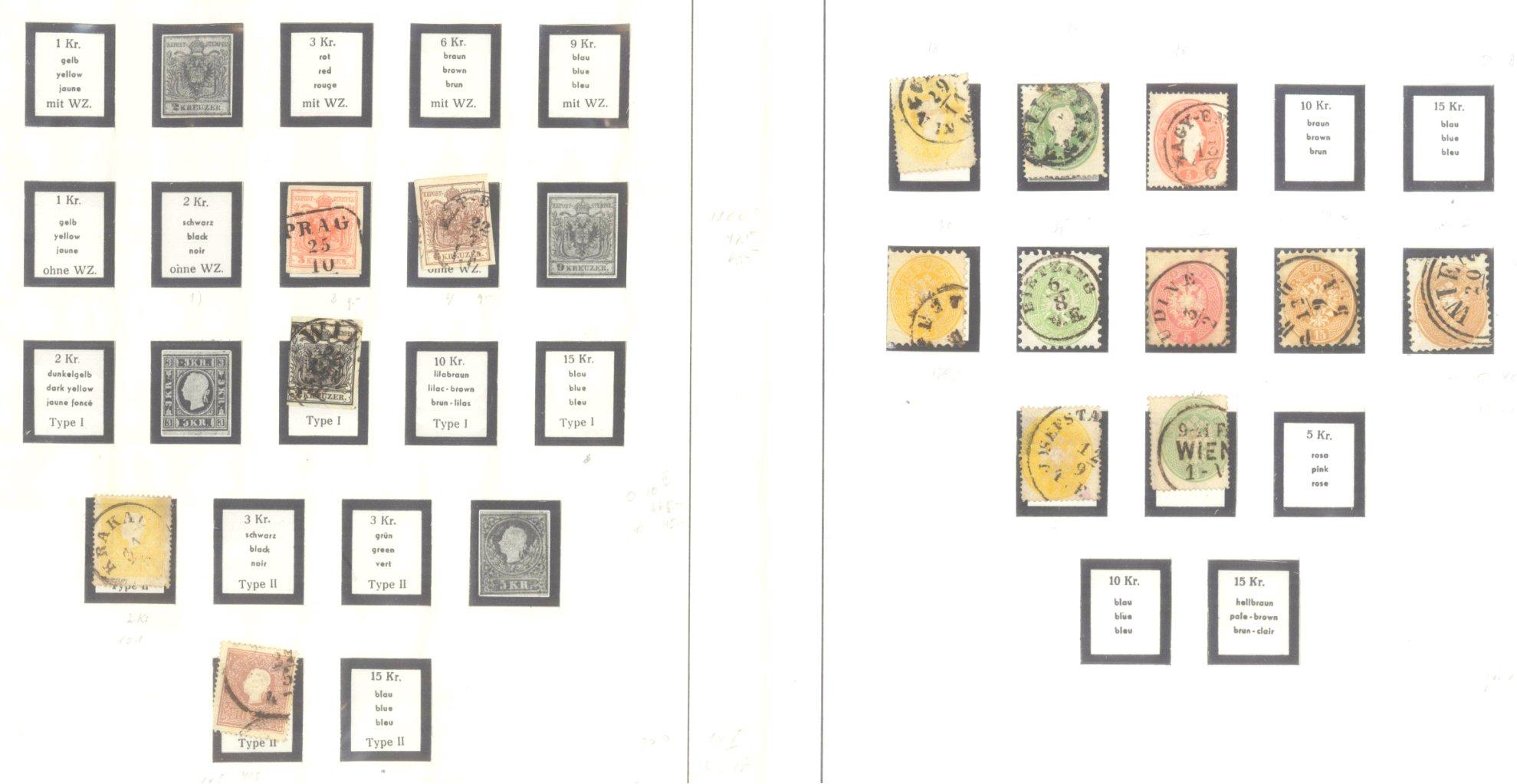 ÖSTERREICH 1850-1937-1