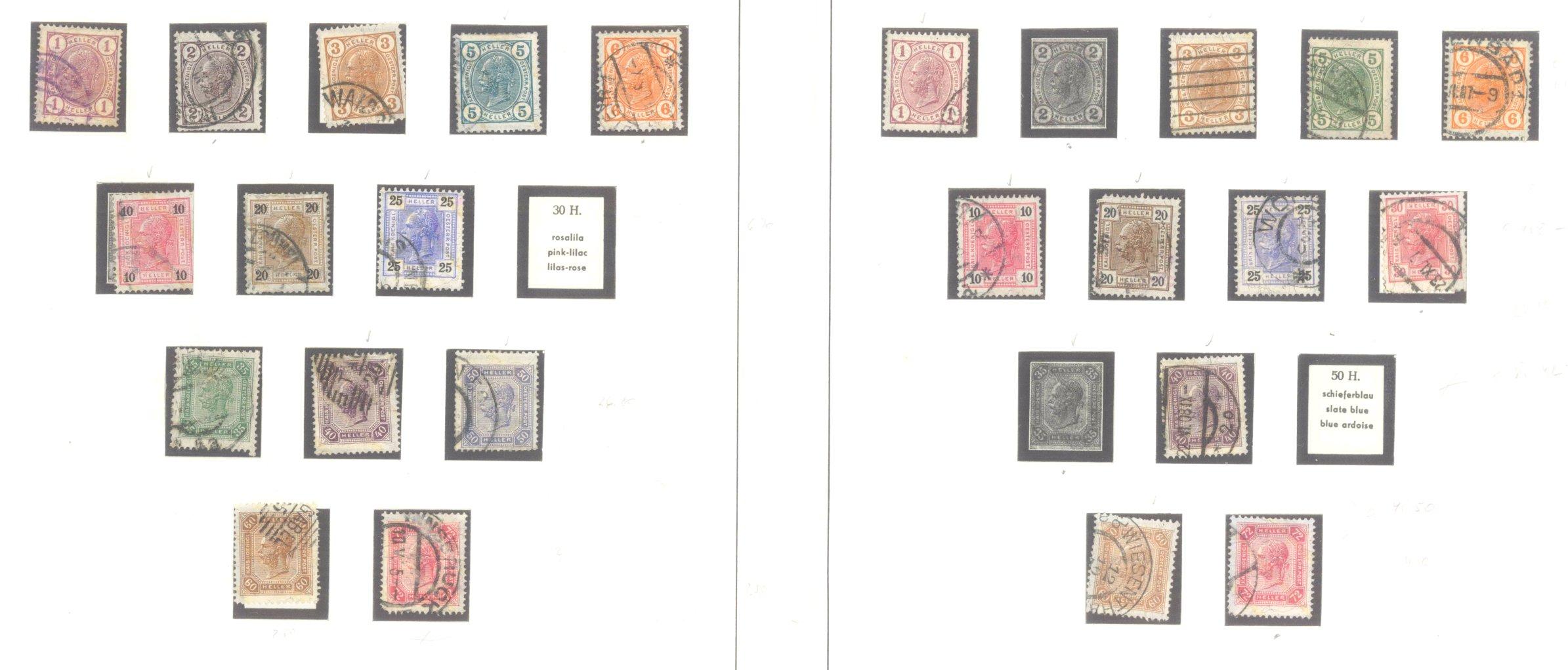 ÖSTERREICH 1850-1937-4