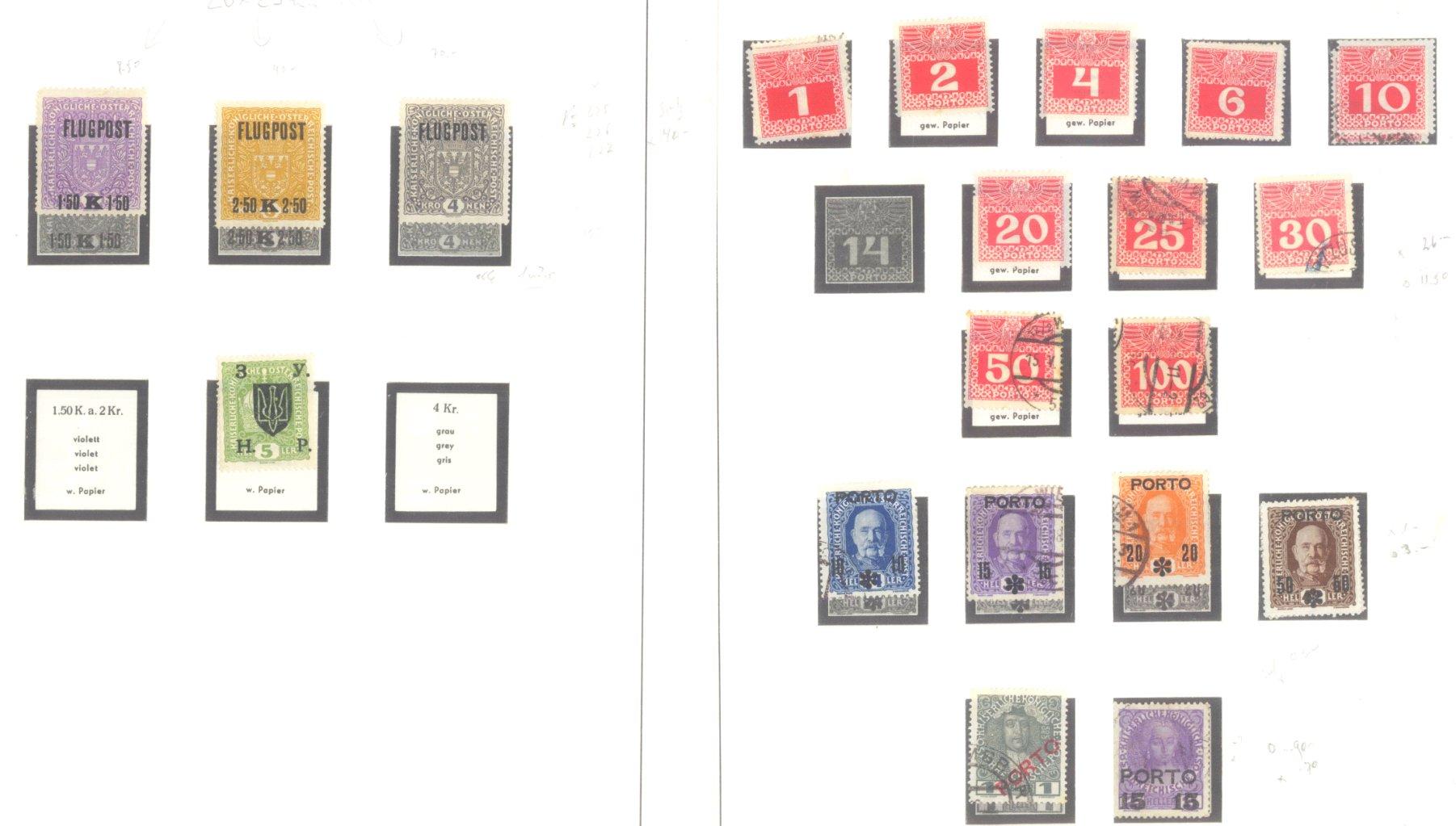 ÖSTERREICH 1850-1937-6