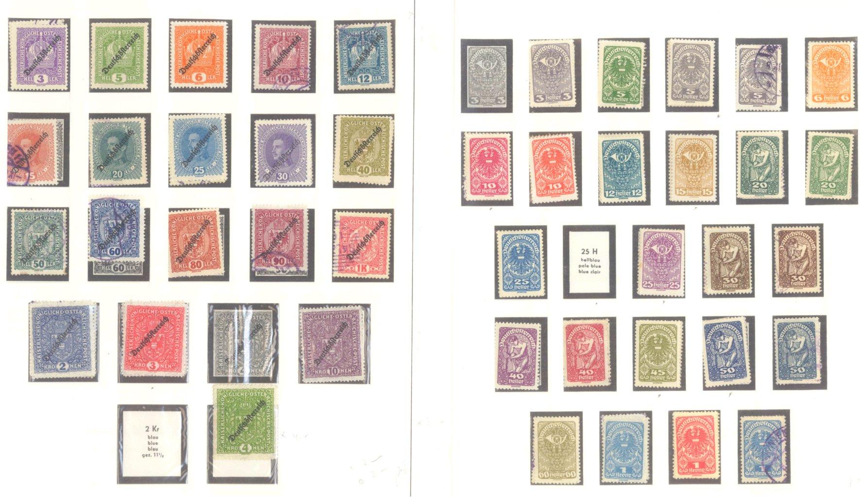ÖSTERREICH 1850-1937-7