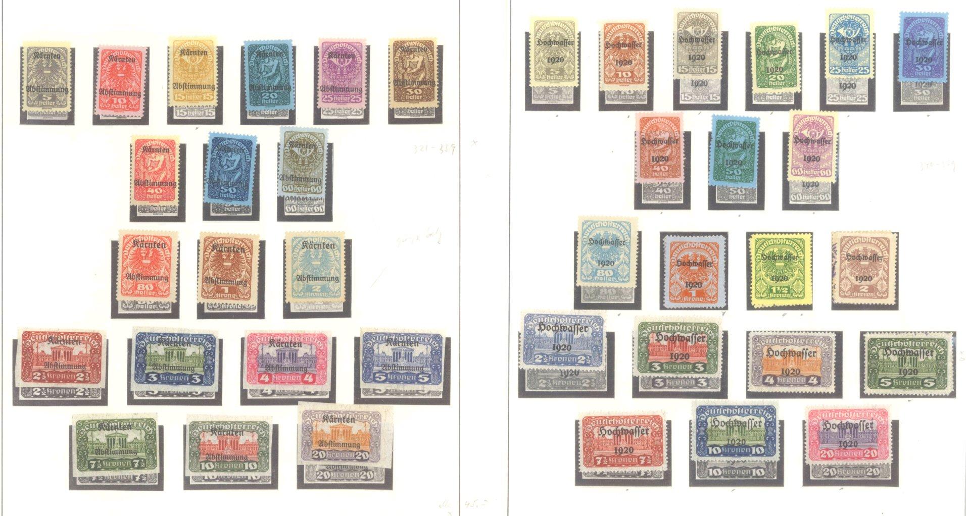 ÖSTERREICH 1850-1937-9