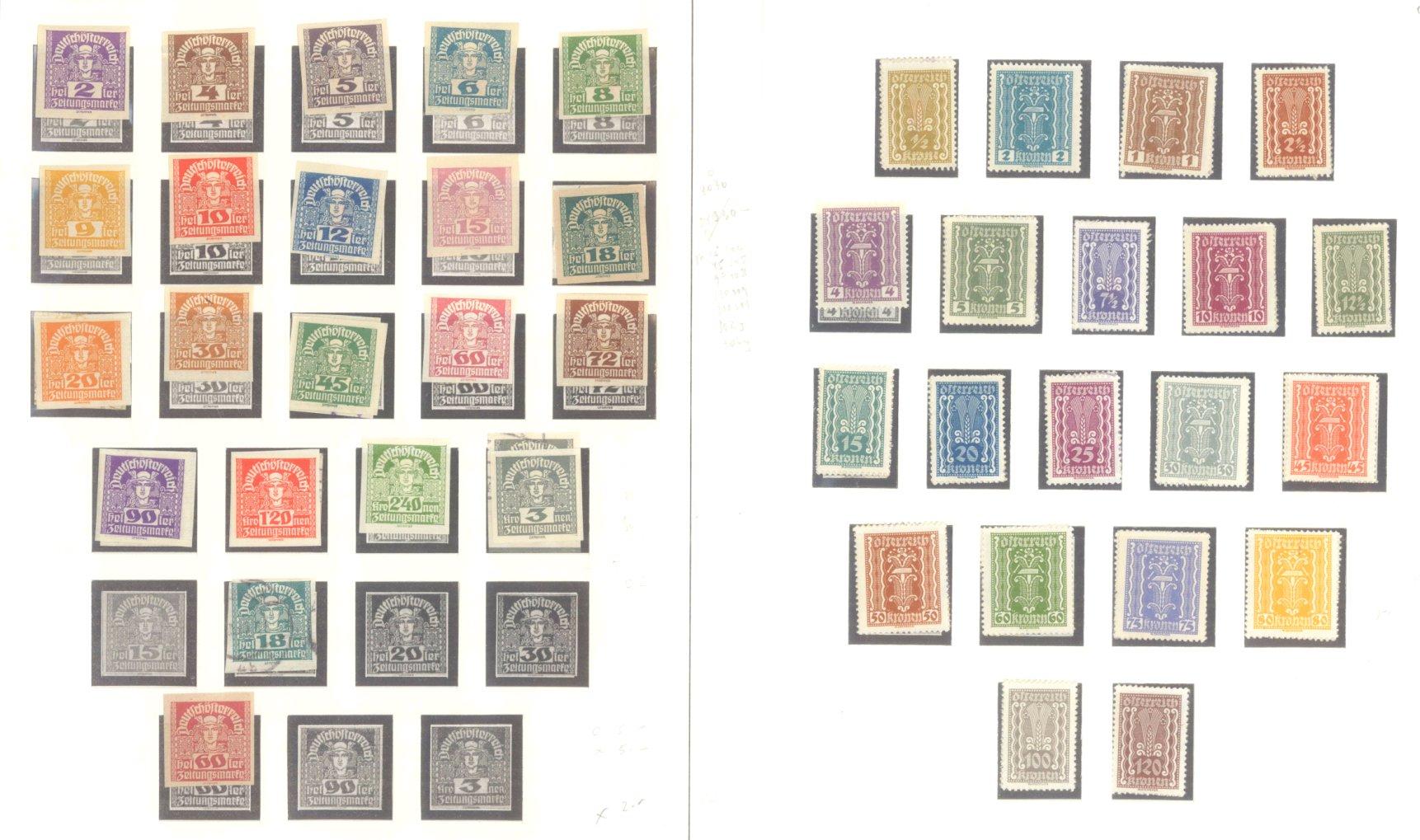 ÖSTERREICH 1850-1937-10