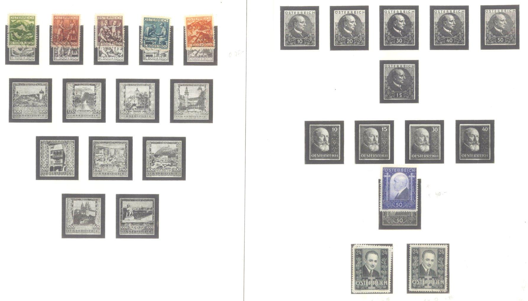 ÖSTERREICH 1850-1937-11