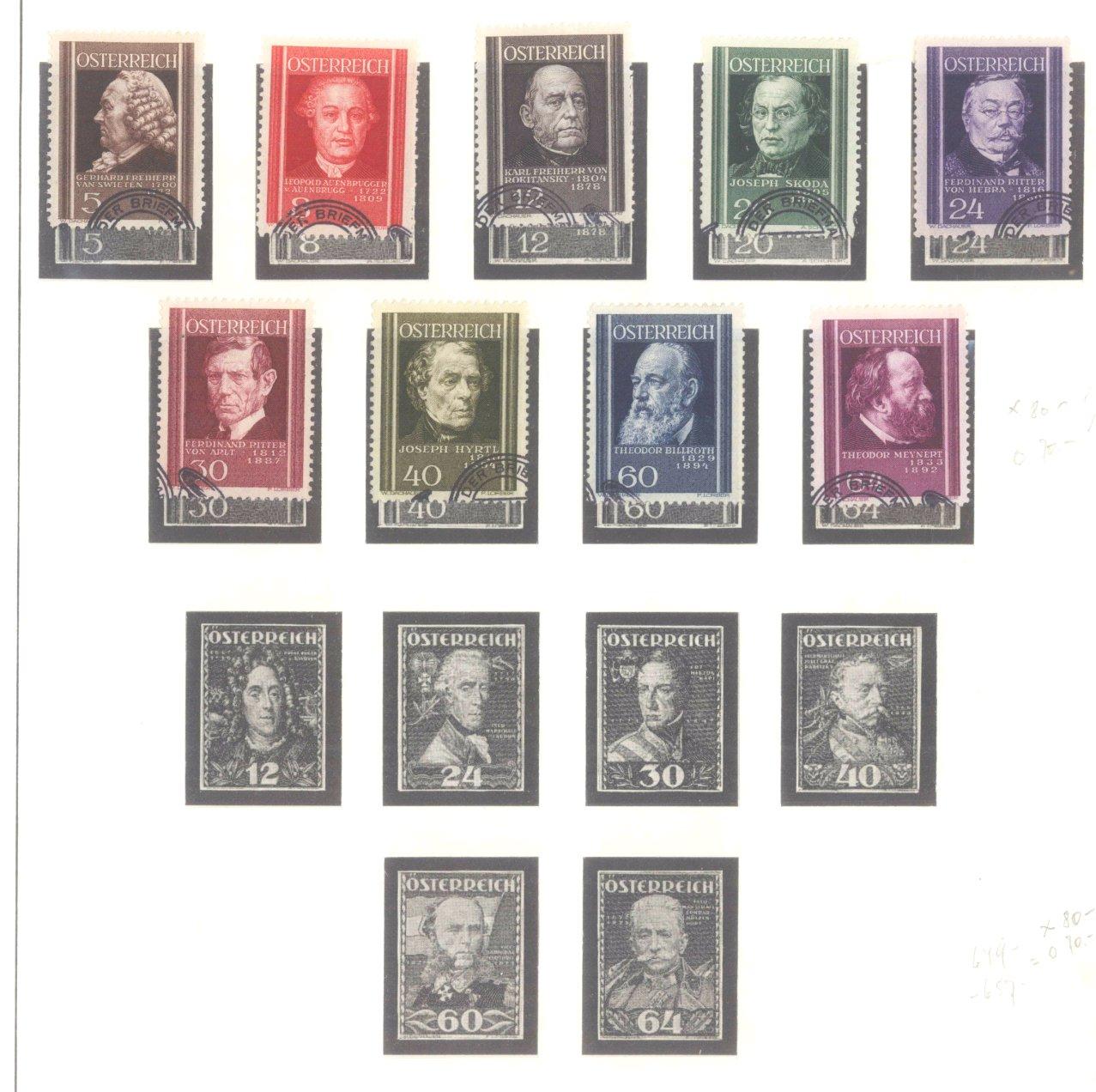 ÖSTERREICH 1850-1937-13