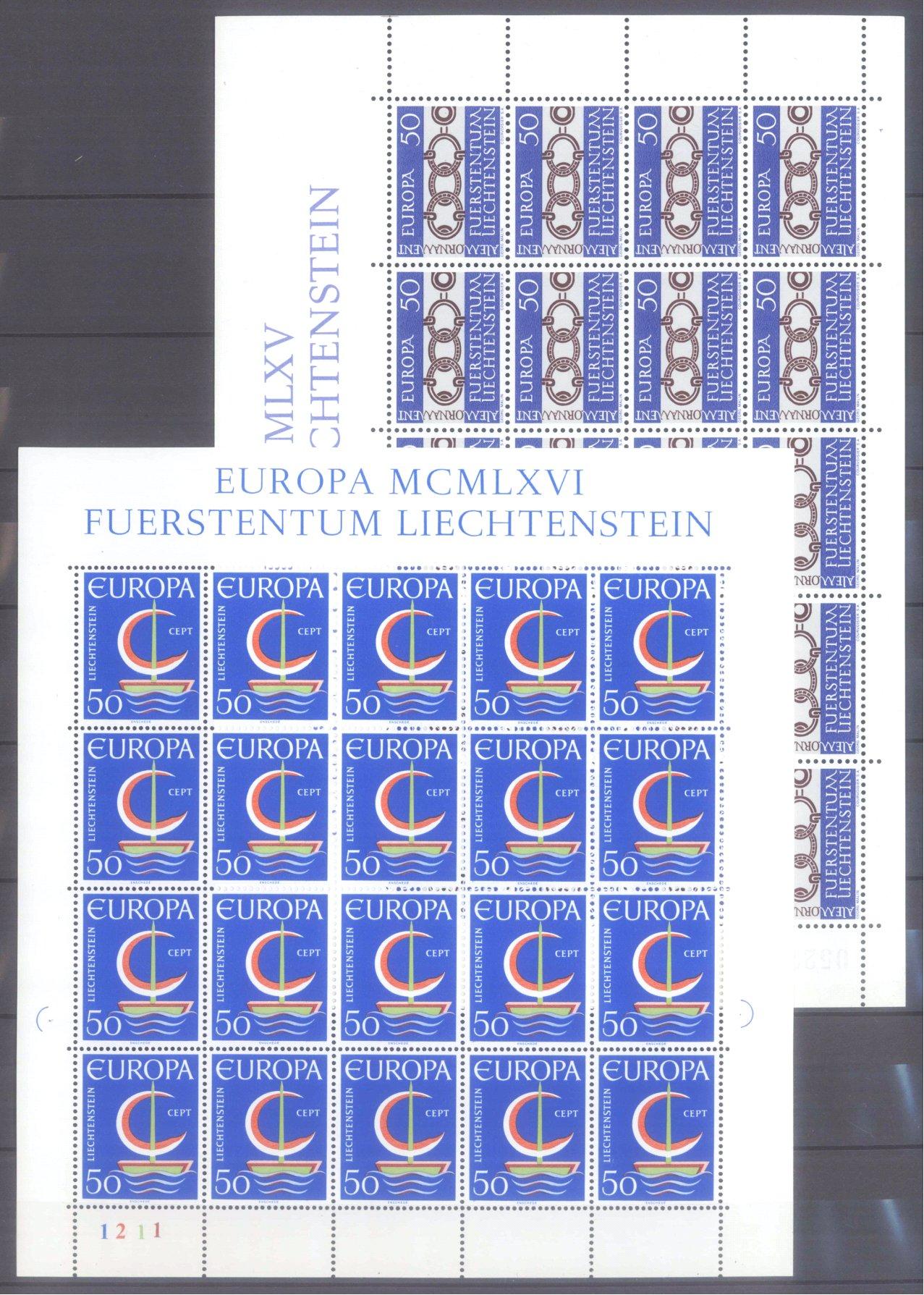 EUROPA CEPT 1956 – 1970-18