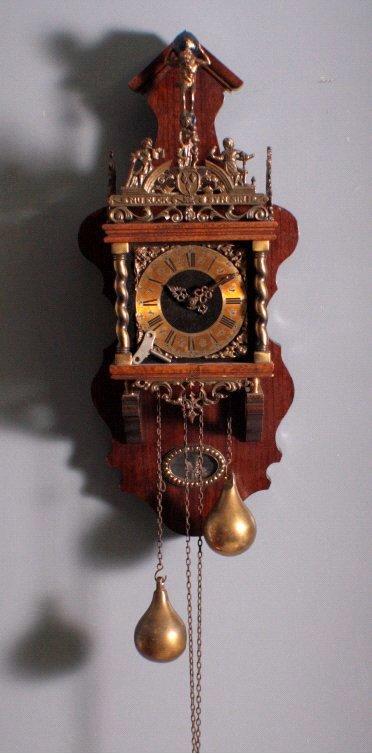 Zaandam-Uhr um 1970