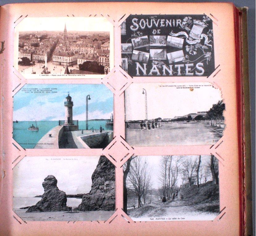 Großformatiges Postkartenalbum-1