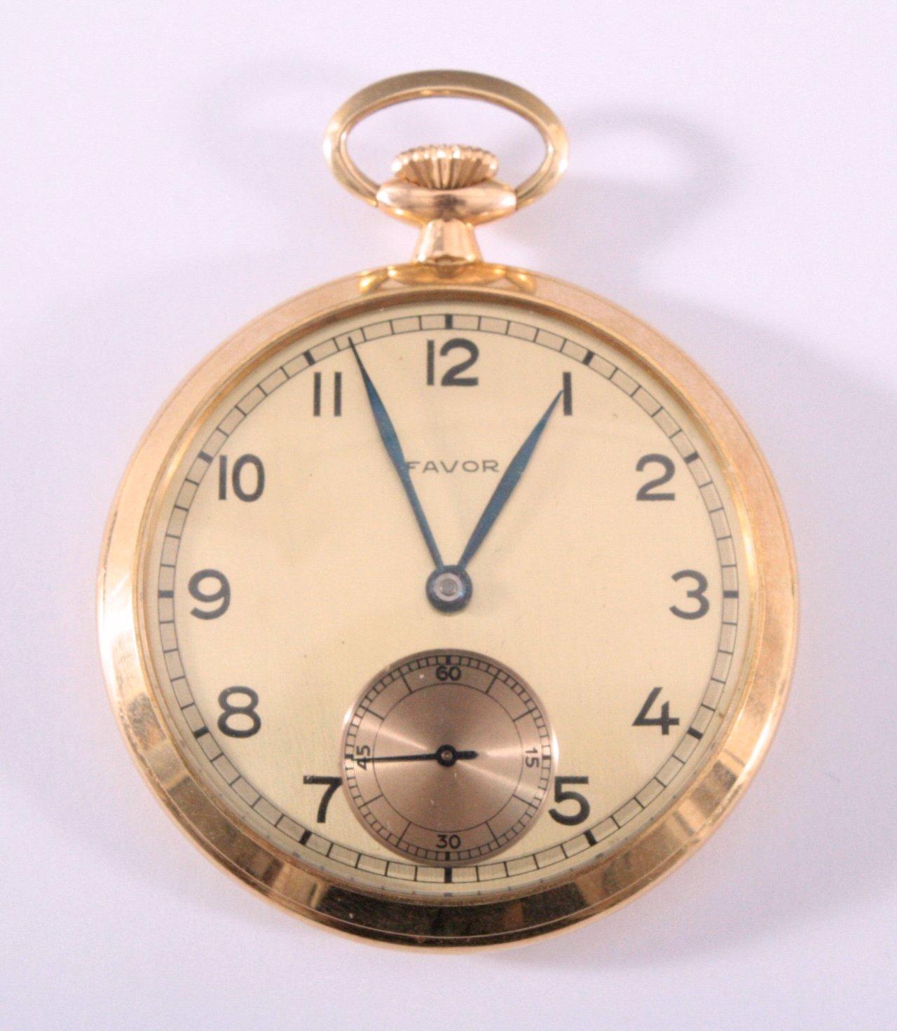Herrentaschenuhr der Marke Favor