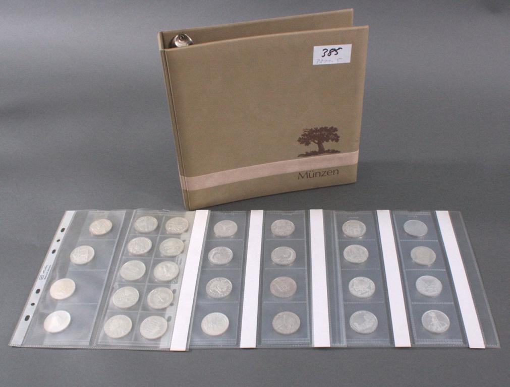 BRD 10 DM Gedenkmünzen