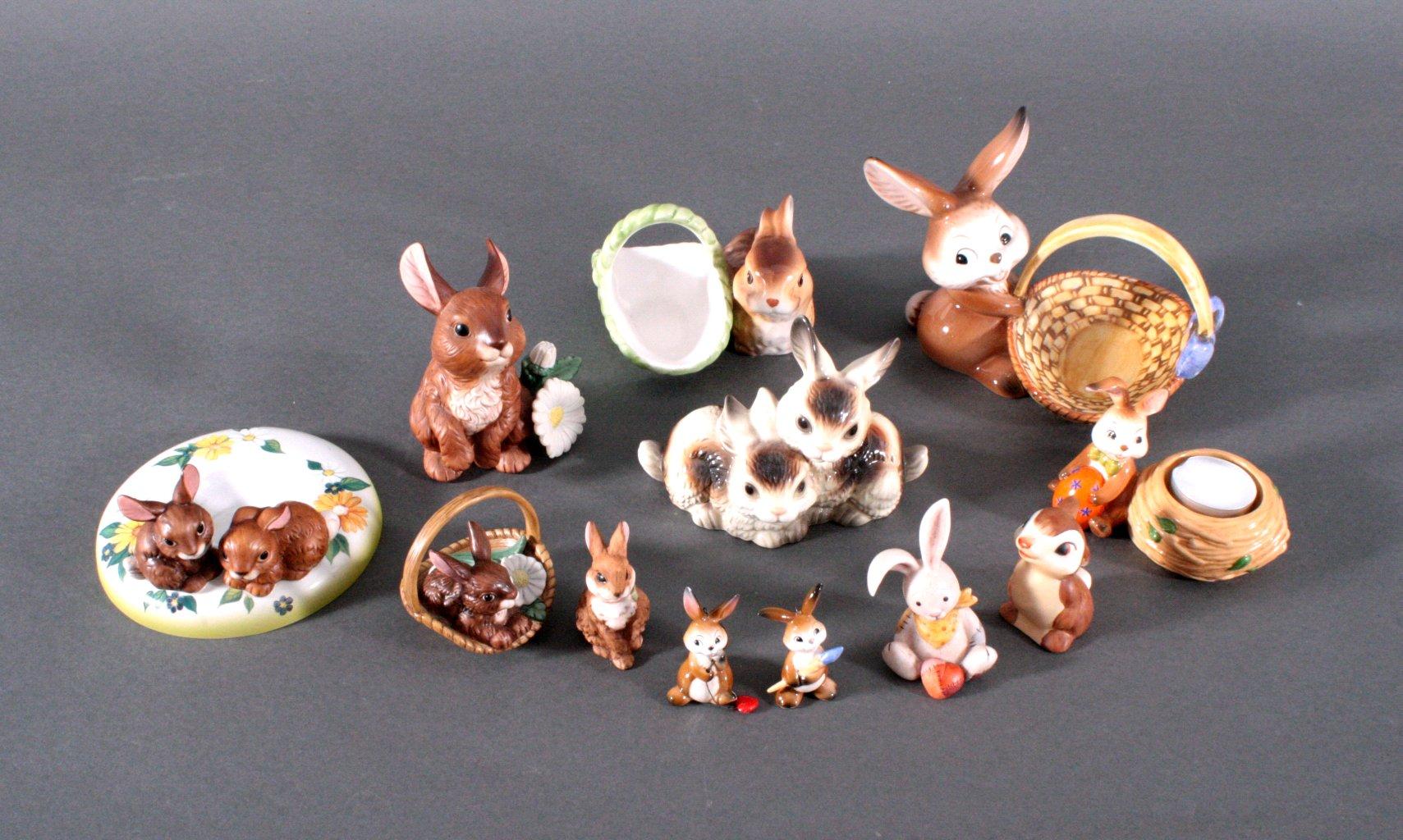 Kleine Sammlung Goebel Hasen