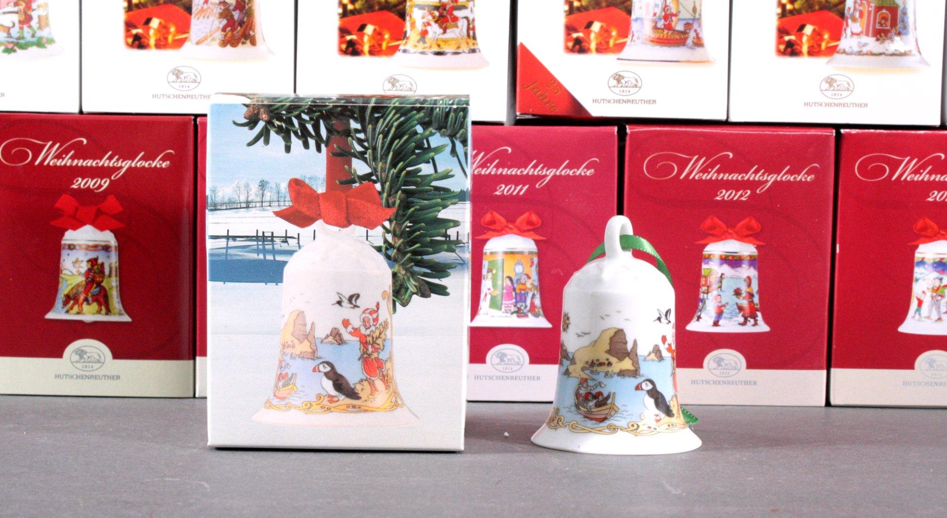Hutschenreuther Weihnachtsglocke, komplett 1989 bis 2015-1