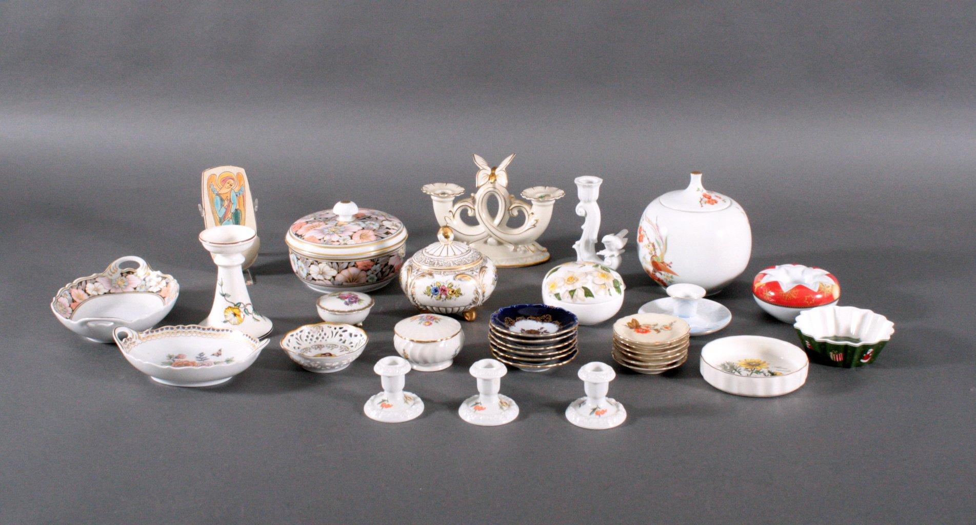Großes Konvolut Porzellan und Keramik