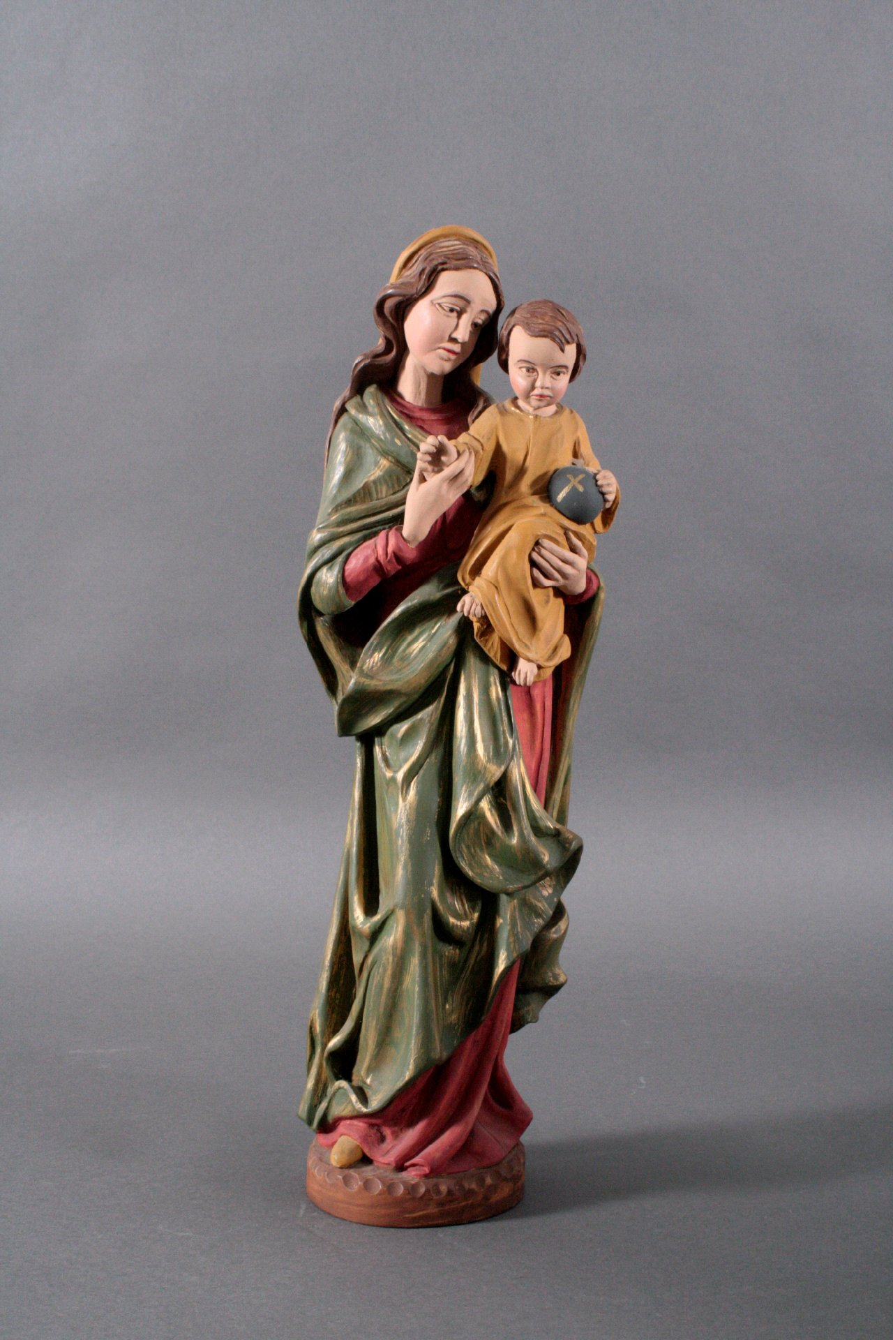 Religiöse Holzfiguren-1