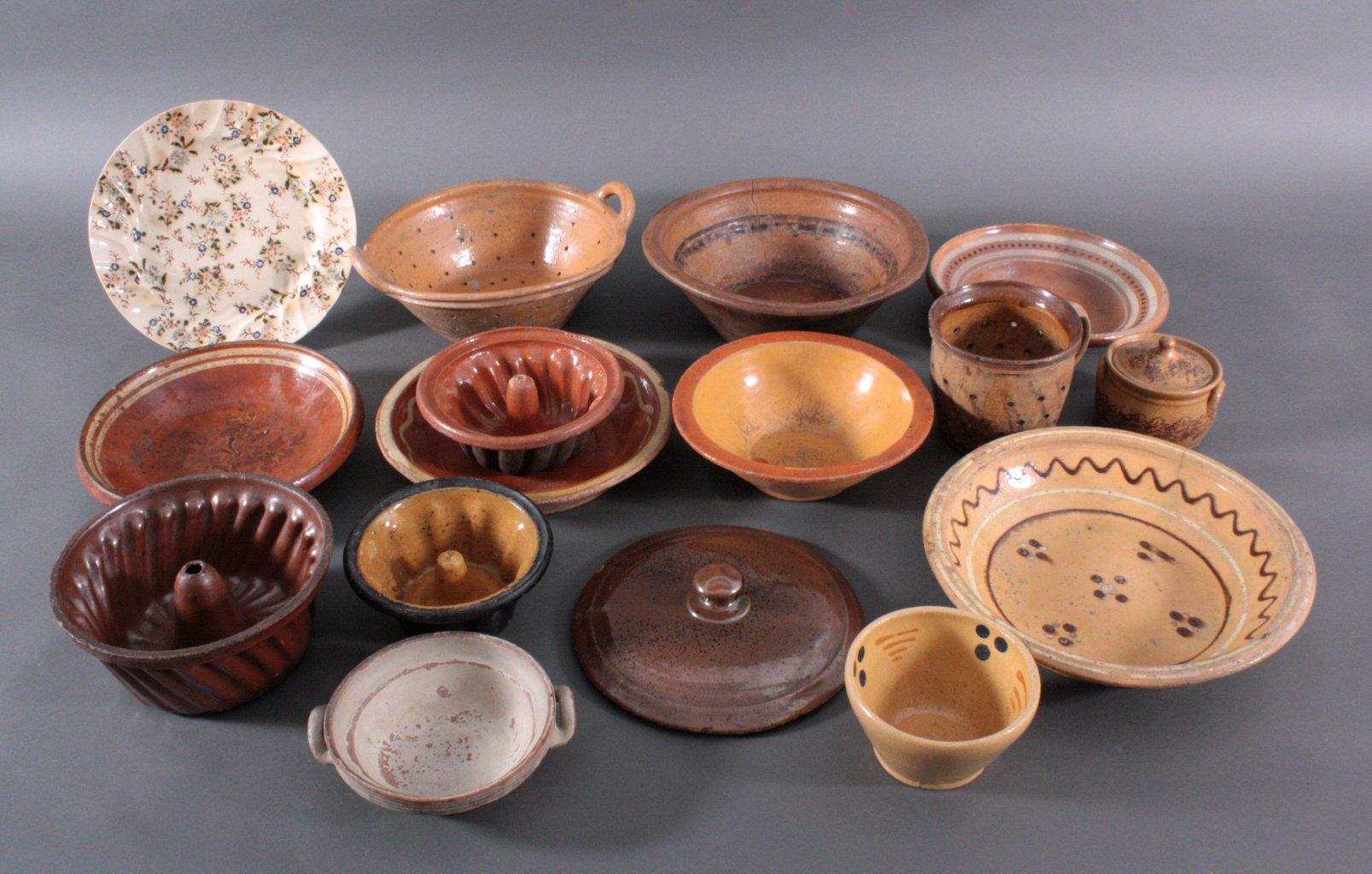 Konvolut Ton- und Keramikgefäße