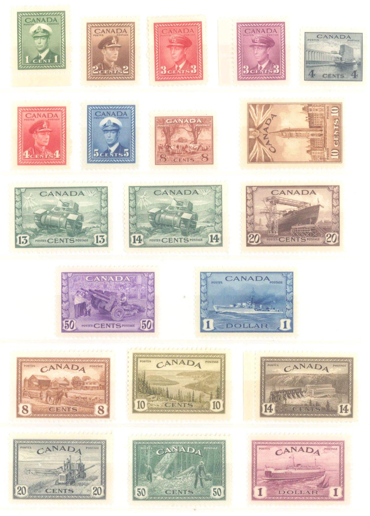CANADA 1942-1949