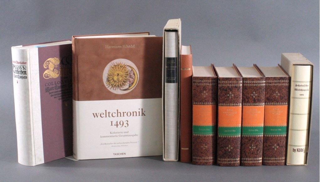 9 Faksimile Bücher