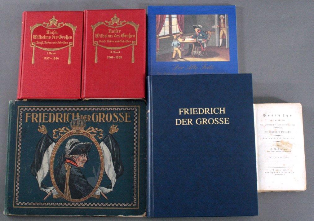 Sammlung Bücher zum Thema Preussen