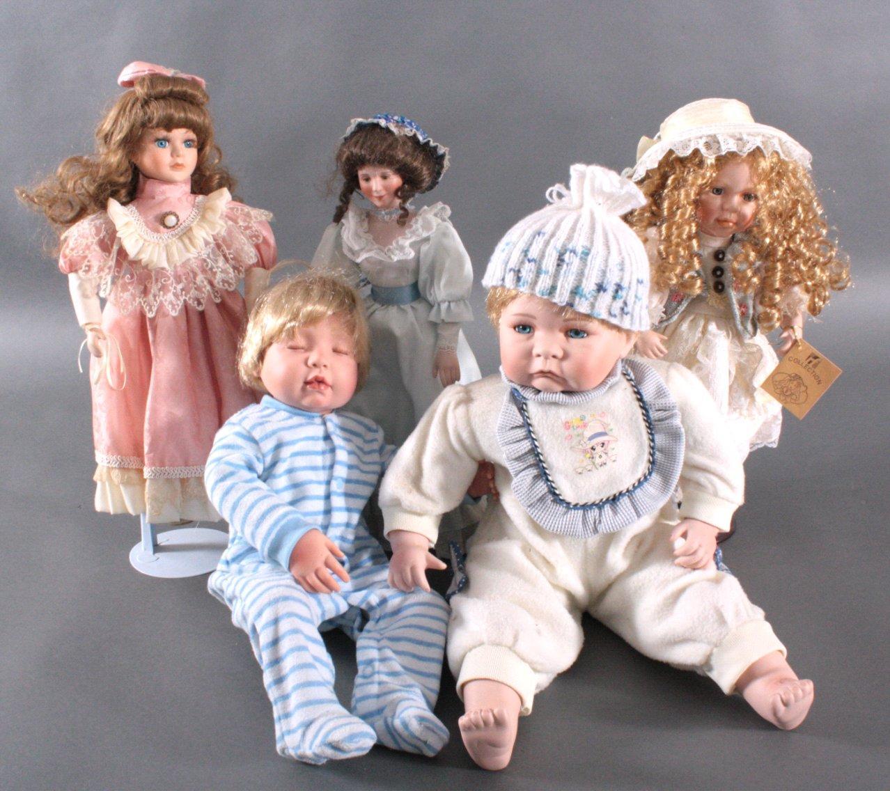 Konvolut Puppen