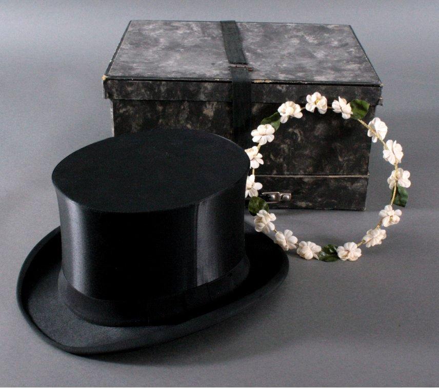 Zylinder mit Hutschachtel