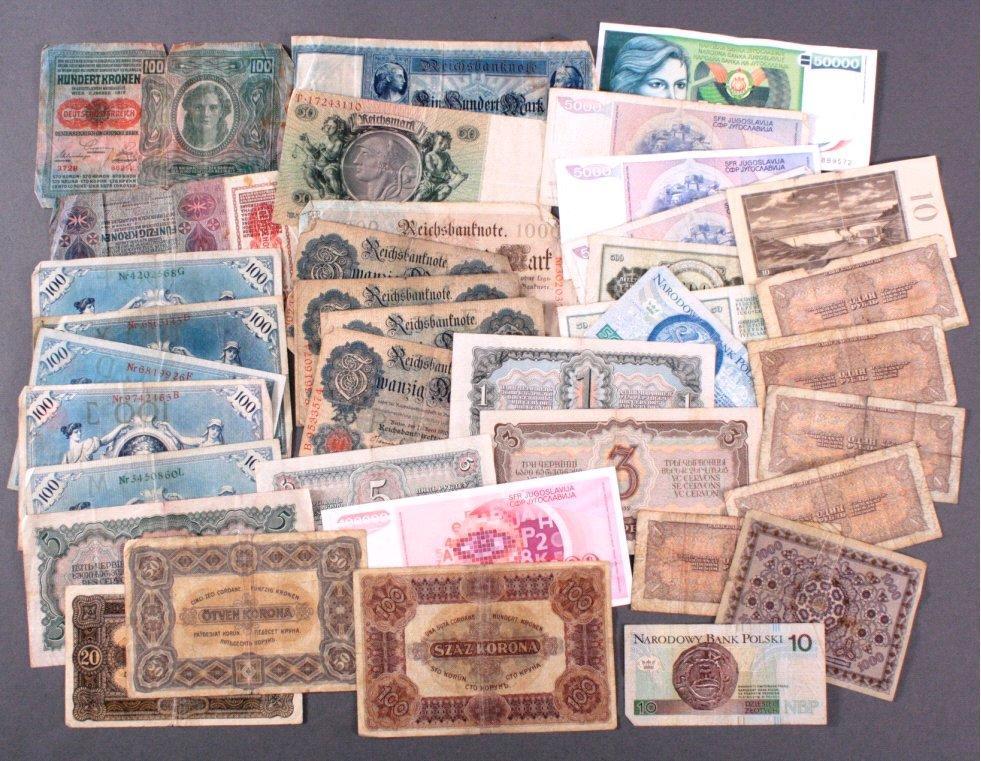 Geldscheine Alle Welt