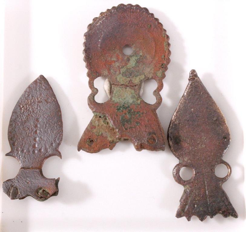3 römische Bronzeanhänger