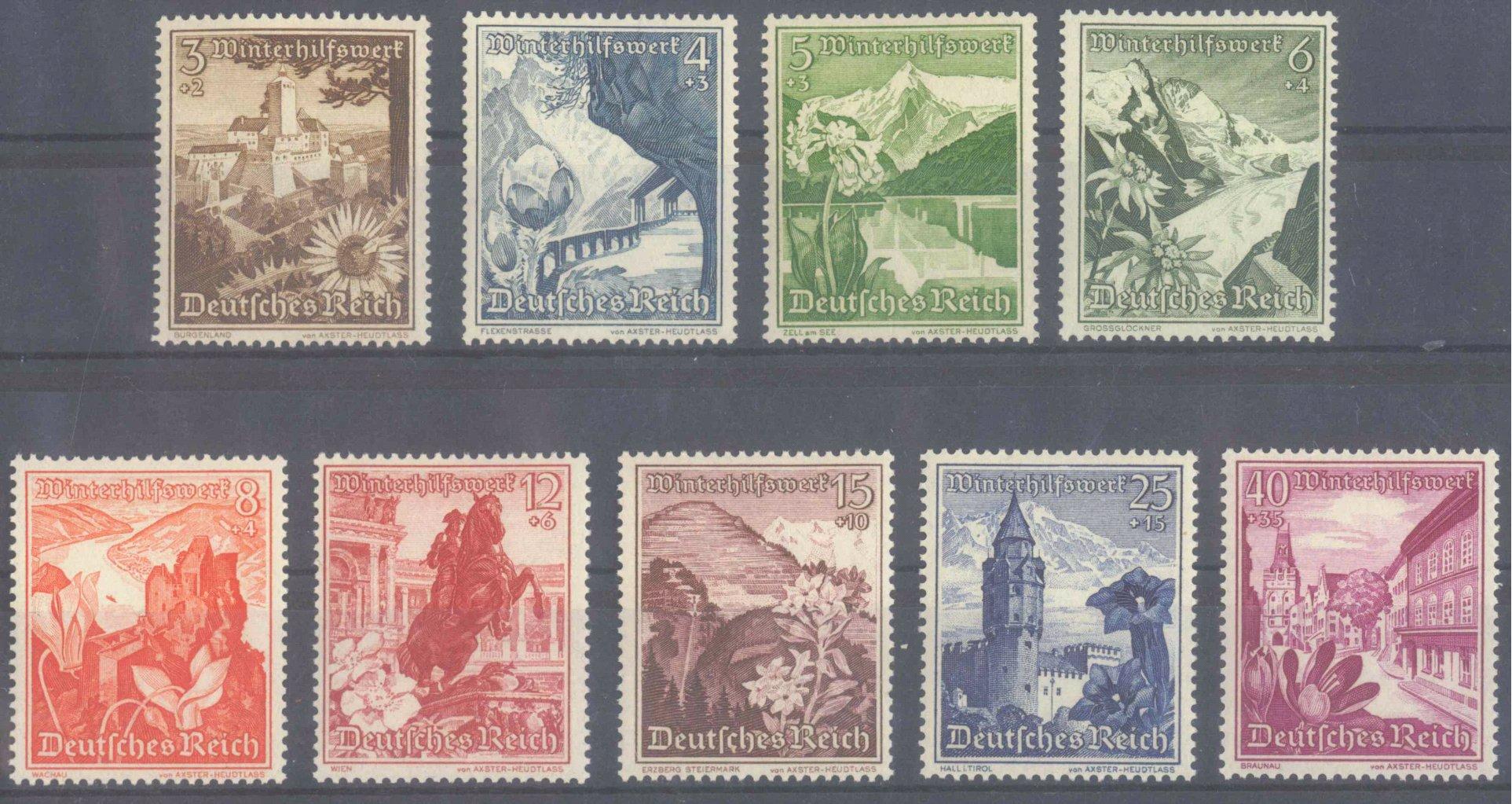 III. REICH 1938, Winterhilfswerk Ostmark, KW 100,- Euro