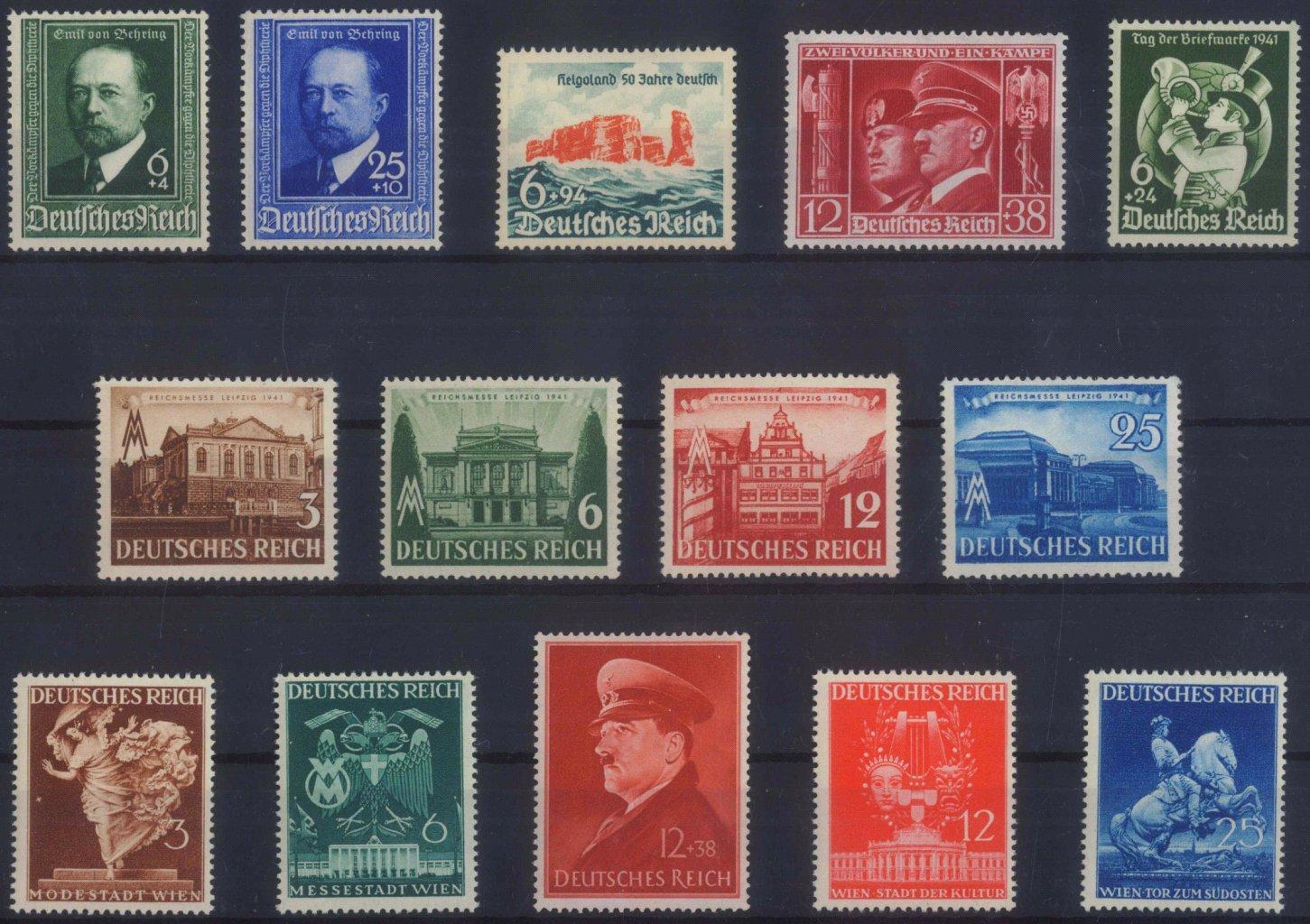 III. REICH 1940/1941, sieben komplette Ausgaben