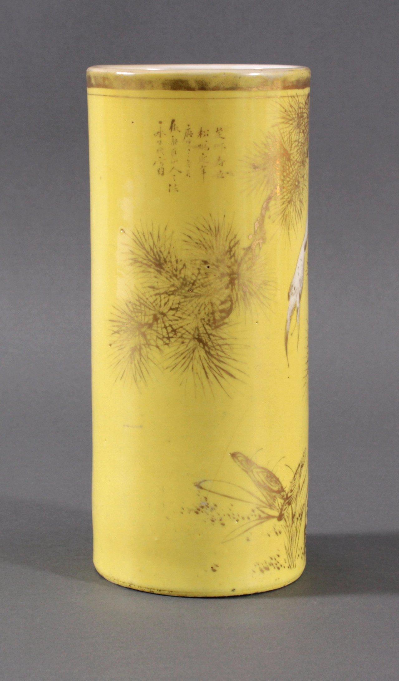 China-Vase um 1900-2
