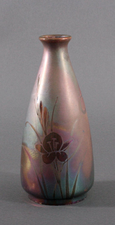 Jugendstil-Vase, Montières um 1910