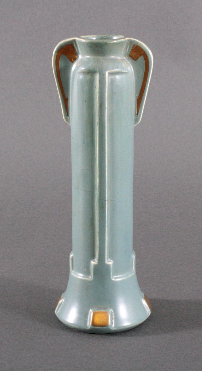Sarreguemines, Jugendstil-Vase
