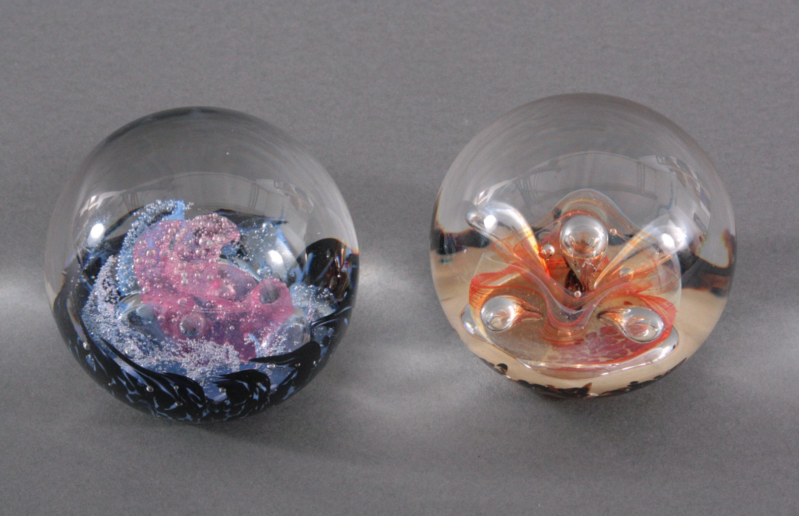 Konvolut Paperweights, Selkirk Glass