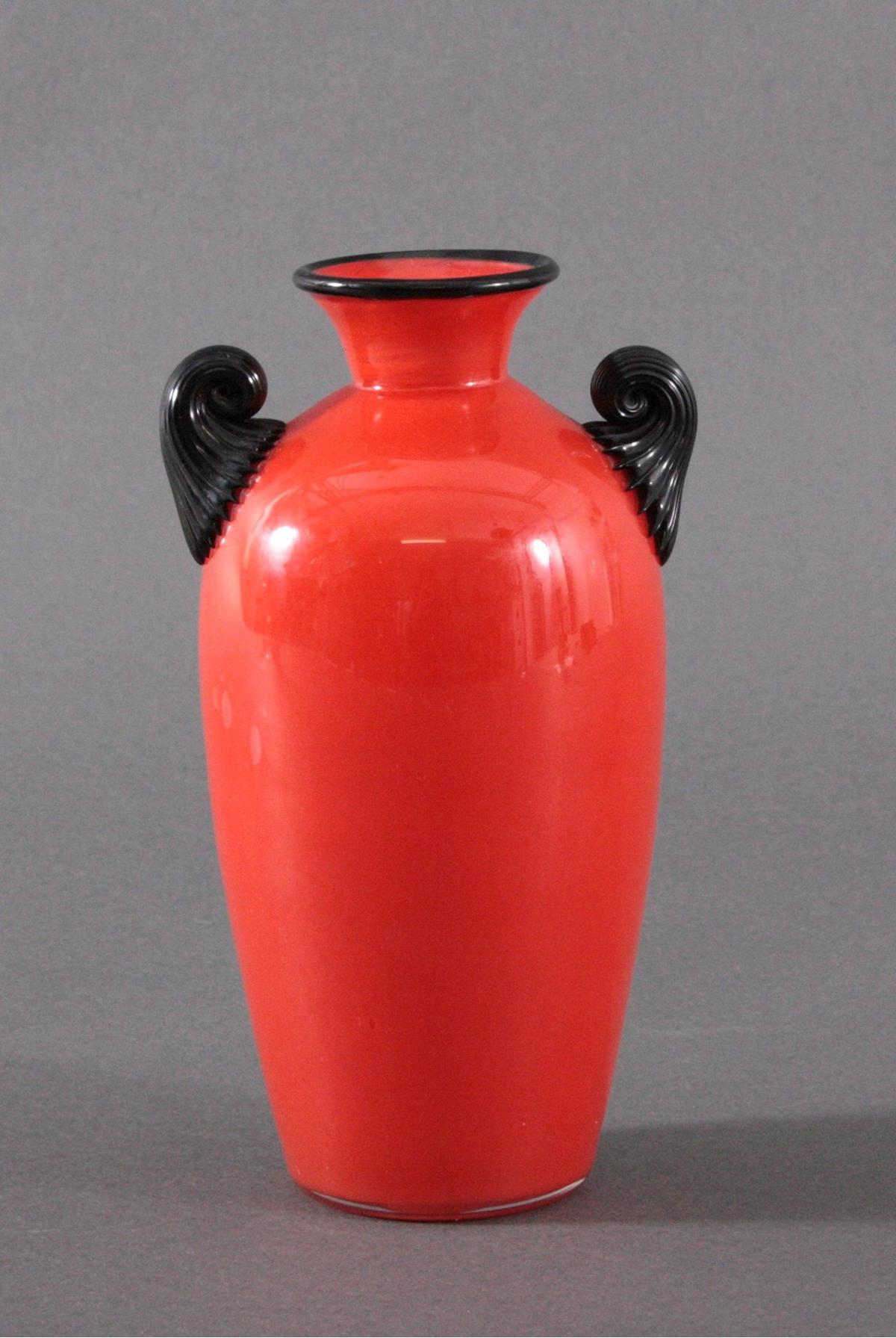 Tango-Vase, Loetz Witwe, Klostermühle um 1920