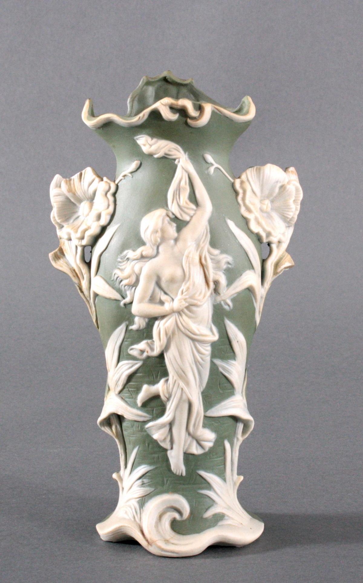 Dekorative Vase um 1900