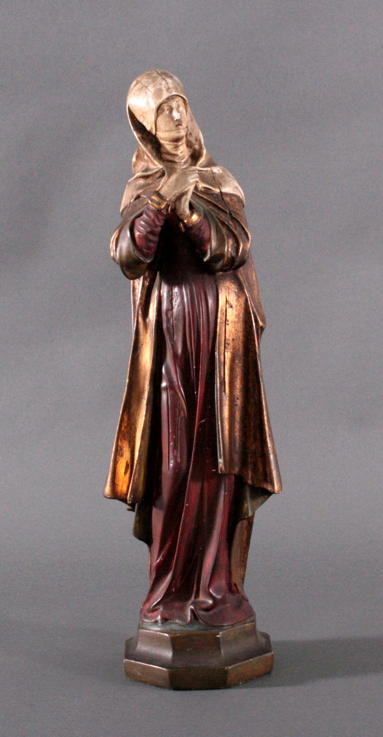 Betende Heilige Anna, Schwanger, 19. Jh.