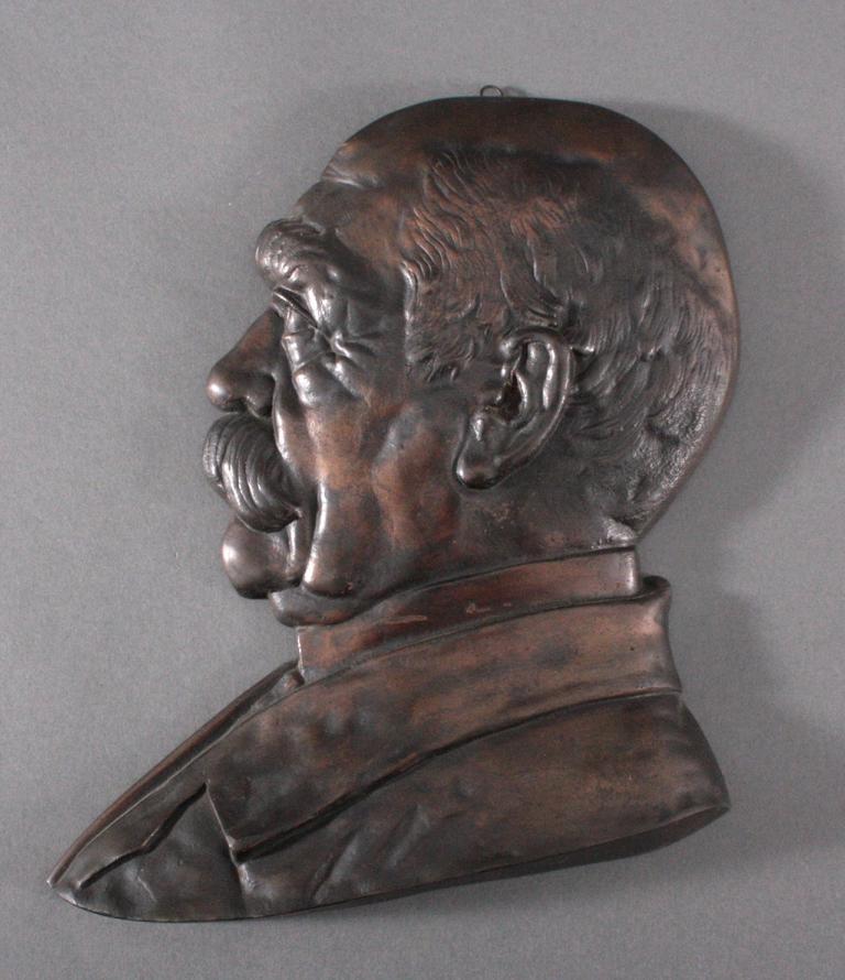 Halbportrait Otto von Bismarck, um 1900