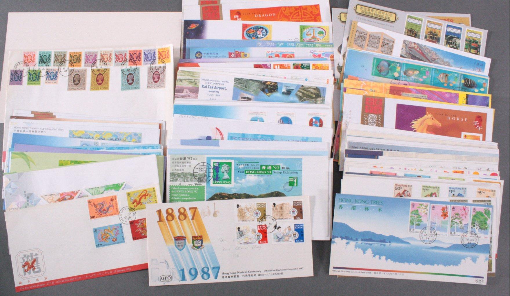 HONGKONG 1987-2004, Katalogwert 800,- Euro