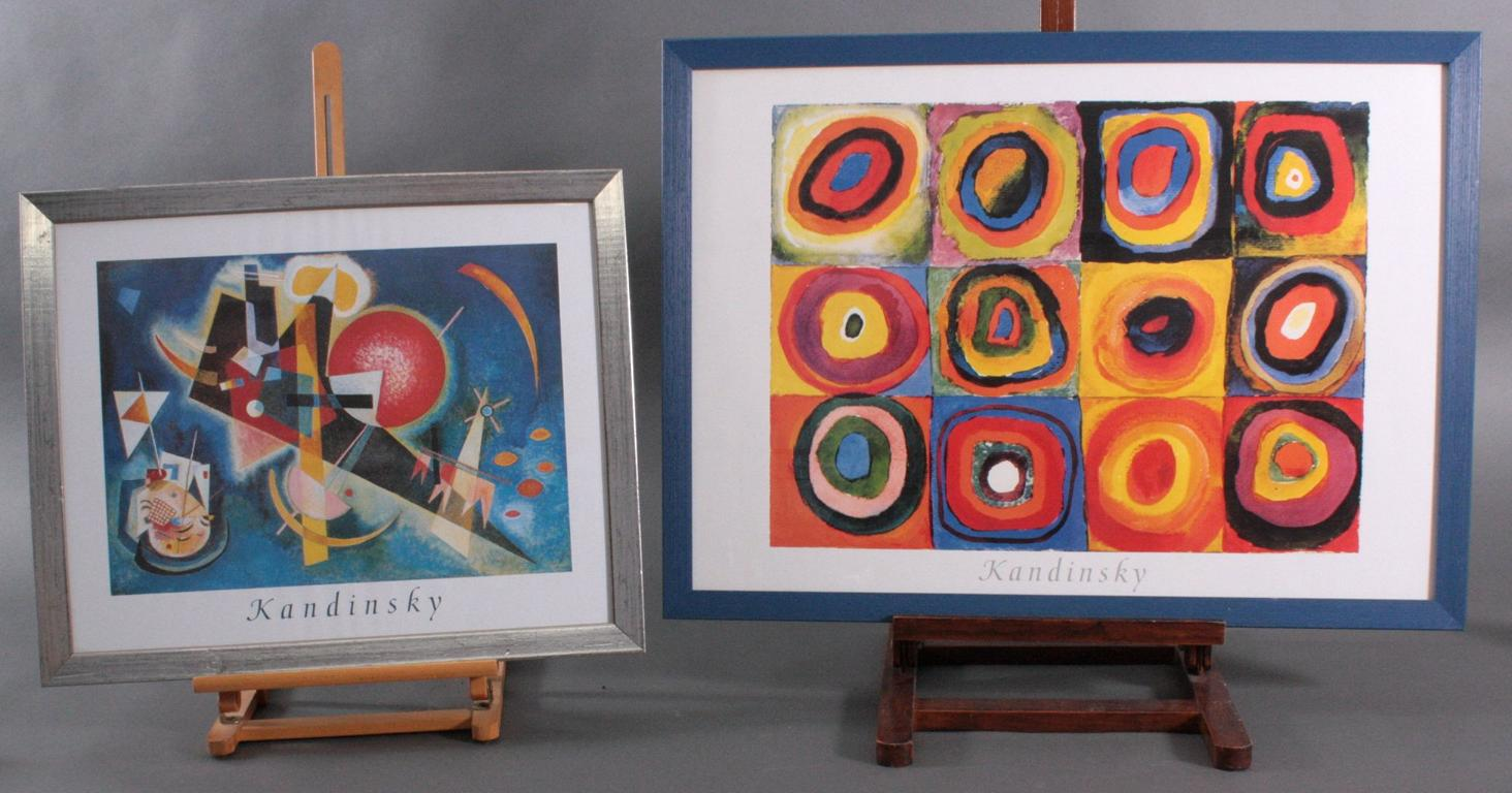 2 Kandinsky Plakate