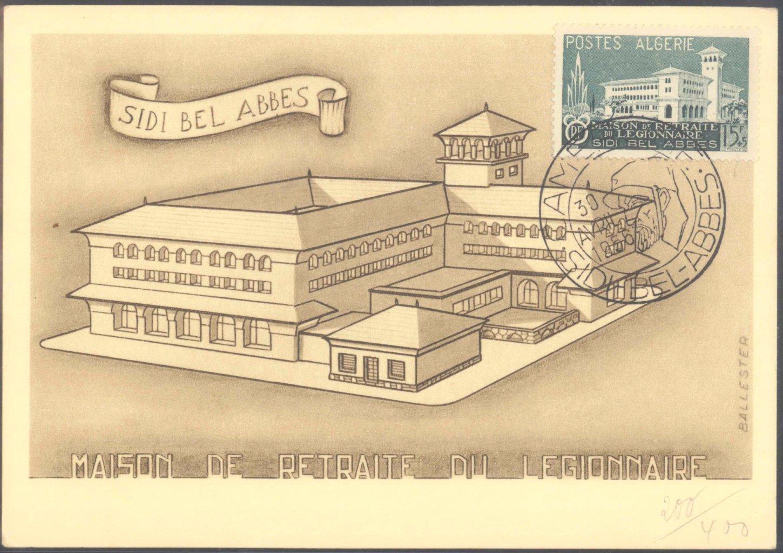 FRANKREICH – ALGERIEN 1956, SIDIBELABBES, Fremdenlegion