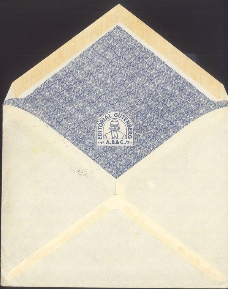 MOTIV GUTENBERG 1930 ECUADOR
