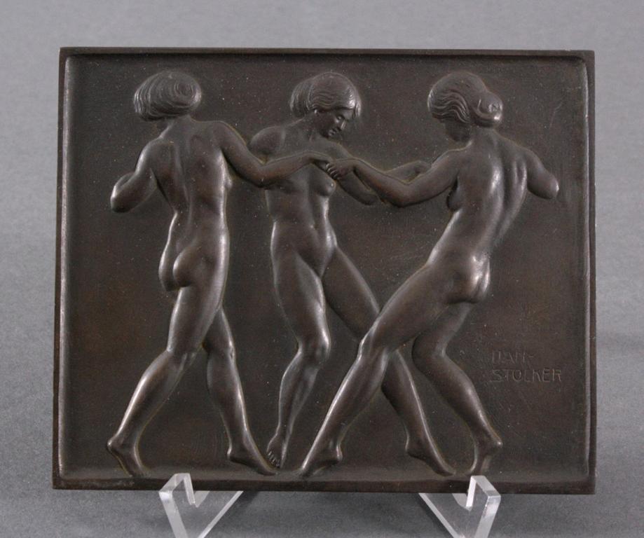 """Daniel Stocker (1865-1957), """"Reigen"""""""
