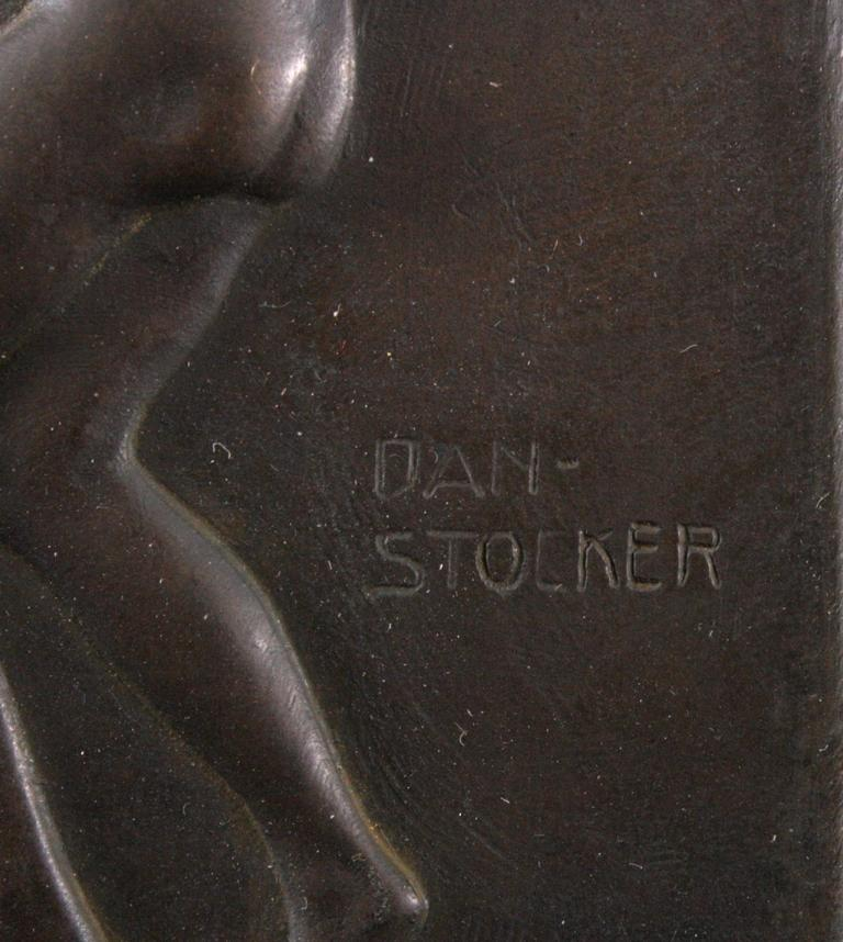 """Daniel Stocker (1865-1957), """"Reigen""""-1"""
