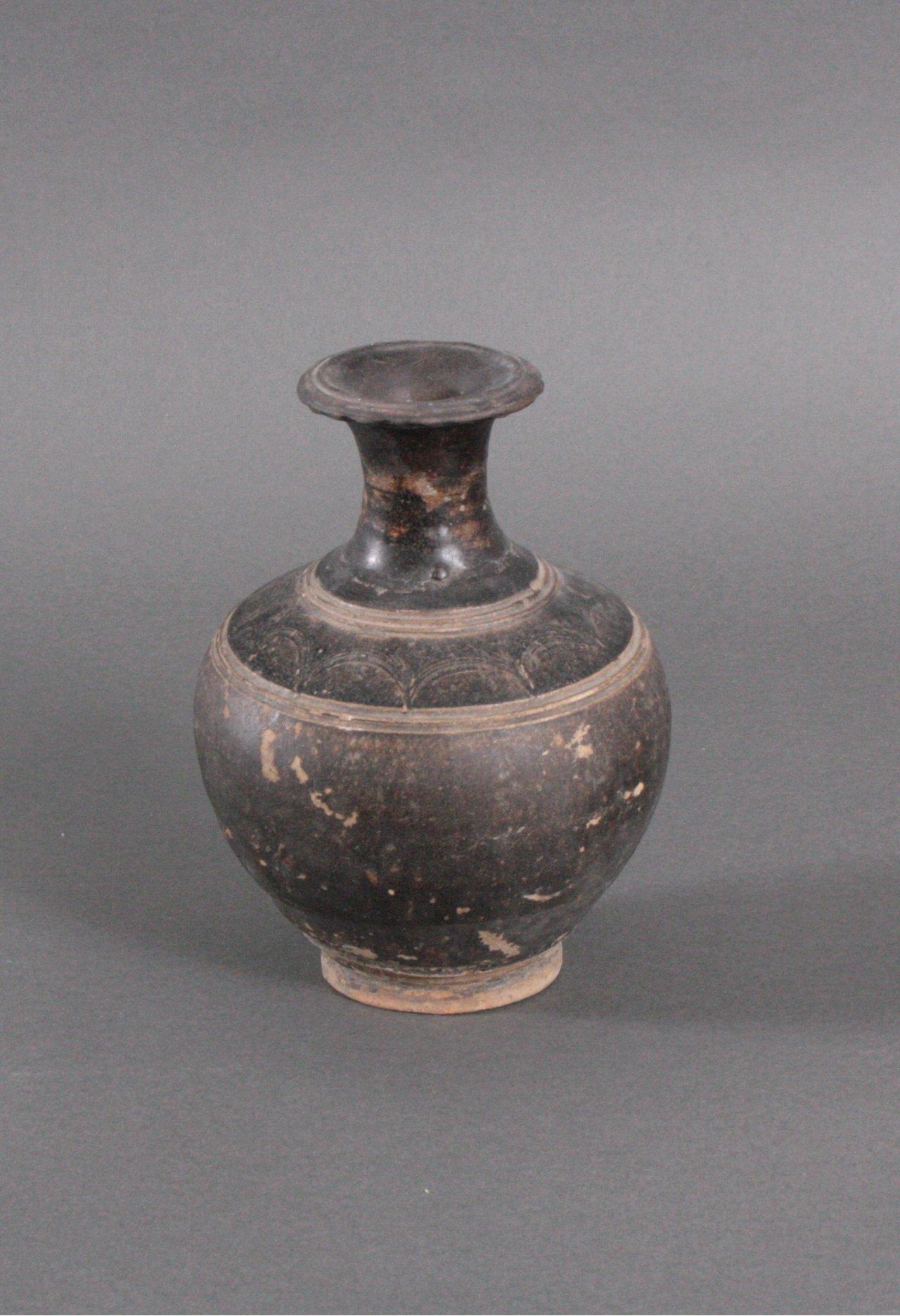 Balustervase, Angkor-Periode 12./13. Jh.