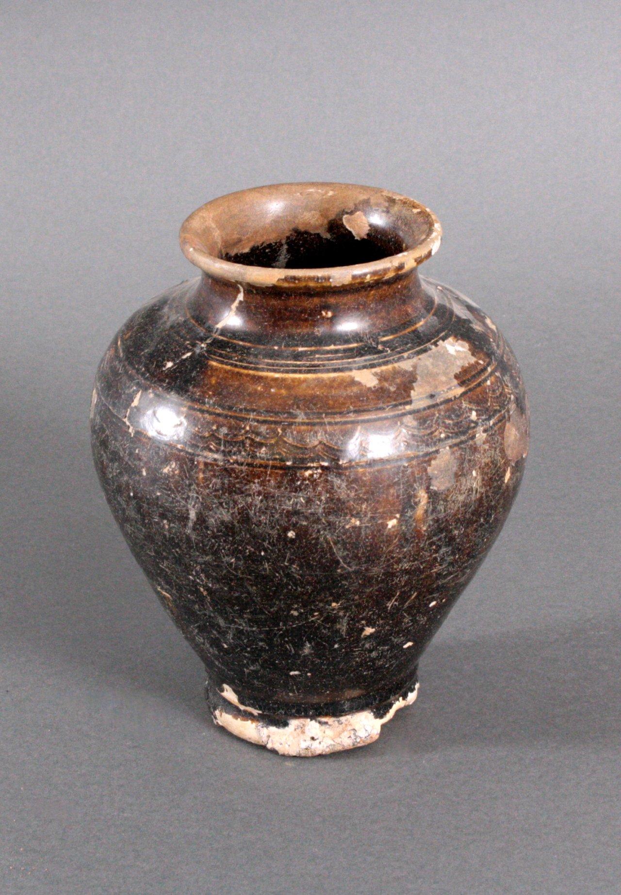 Balustervase, Angkor-Periode 12./13. Jh.-1